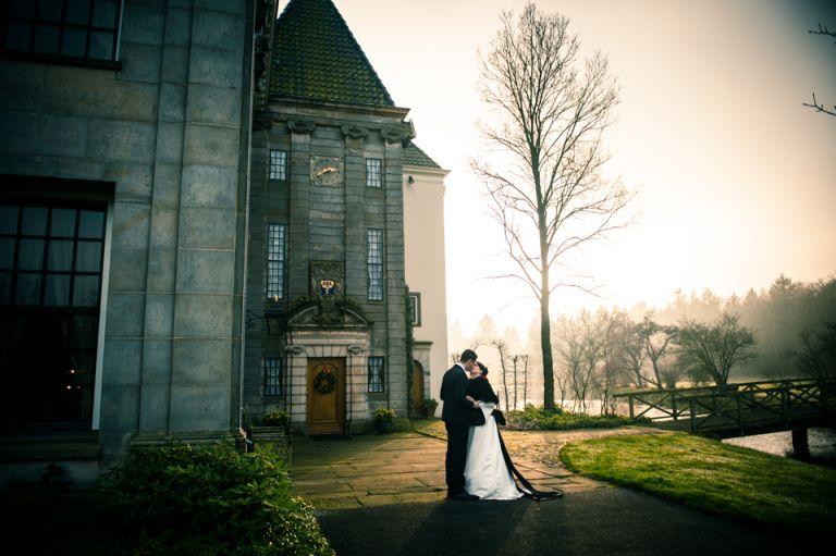 Bruidsreportage op landgoed Singraven