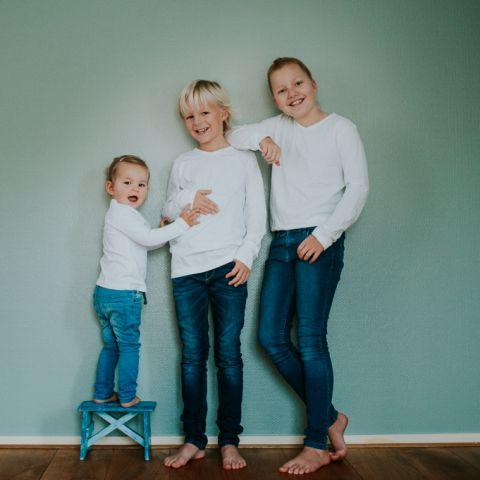 Fotosessie kinderen door Nickie Fotografie