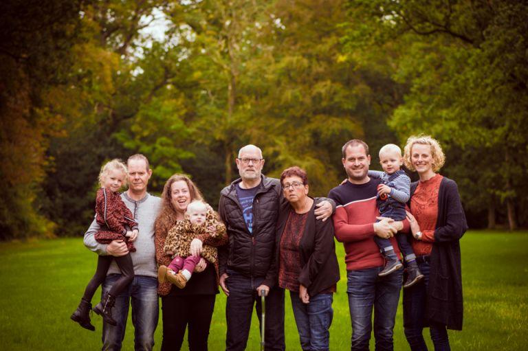 Familieportretten bij Stania State door Nickie Fotografie.
