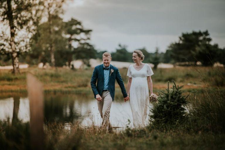 Trouwfotografie door bruidsfotograaf Nickie Fotografie uit Dokkum