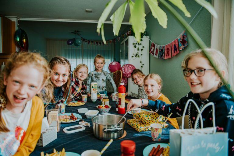 fotoshoot Friesland, kinderfeestje door fotograaf Nickie Fotografie uit Dokkum