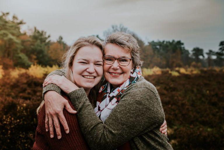 Moeder dochterliefde. Fotoreportage door portretfotograaf Nickie Fotogrfie uit Dokkum, Friesland