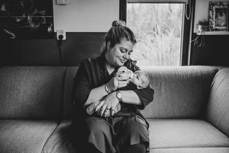 Baby fotografie door fotograaf Nickie Fotografie uit Dokkum